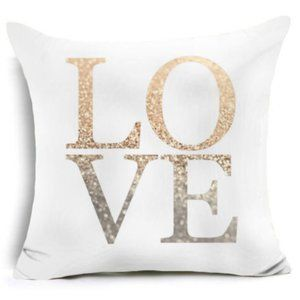 NWT Gold Shiny Pillow Cases